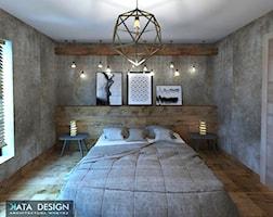 Sypialnia styl Nowoczesny - zdjęcie od katadesign