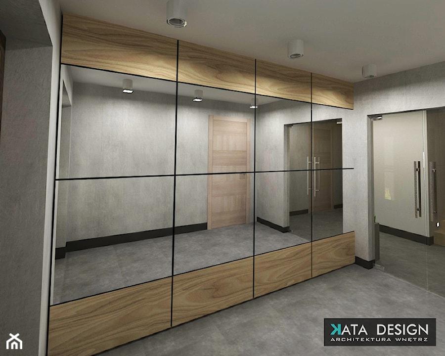 Dom Tychy - Średni szary hol / przedpokój, styl nowoczesny - zdjęcie od Studio 4 Design