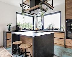 Dom w Węgrzcach - Kuchnia, styl industrialny - zdjęcie od Studio 4 Design - Homebook