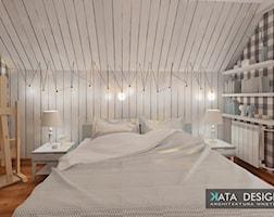 Sypialnia styl Rustykalny - zdjęcie od katadesign