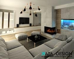 Salon styl Minimalistyczny - zdjęcie od katadesign