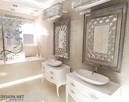 Łazienka styl Glamour - zdjęcie od katadesign