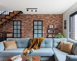 Dom w Węgrzcach - Salon, styl industrialny - zdjęcie od Studio 4 Design - Homebook