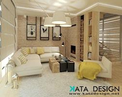 Salon styl Rustykalny - zdjęcie od katadesign