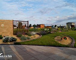 Projekt ogrodu R.O.D.O.S. - Duży ogród za domem japoński - zdjęcie od zielonaFALA