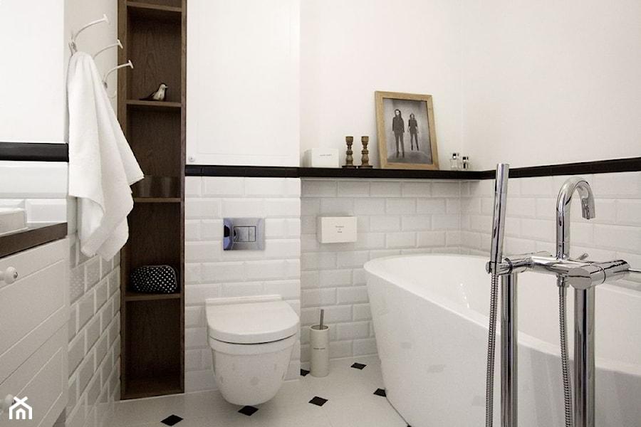 Konkurs 1 średnia Biała łazienka W Bloku Bez Okna Styl