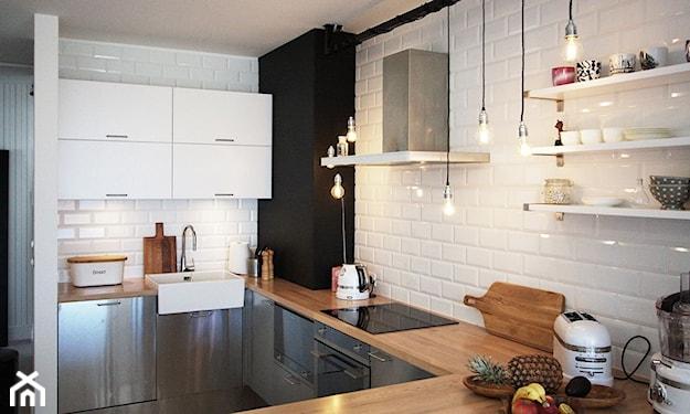 minimalistyczna skandynawska kuchnia