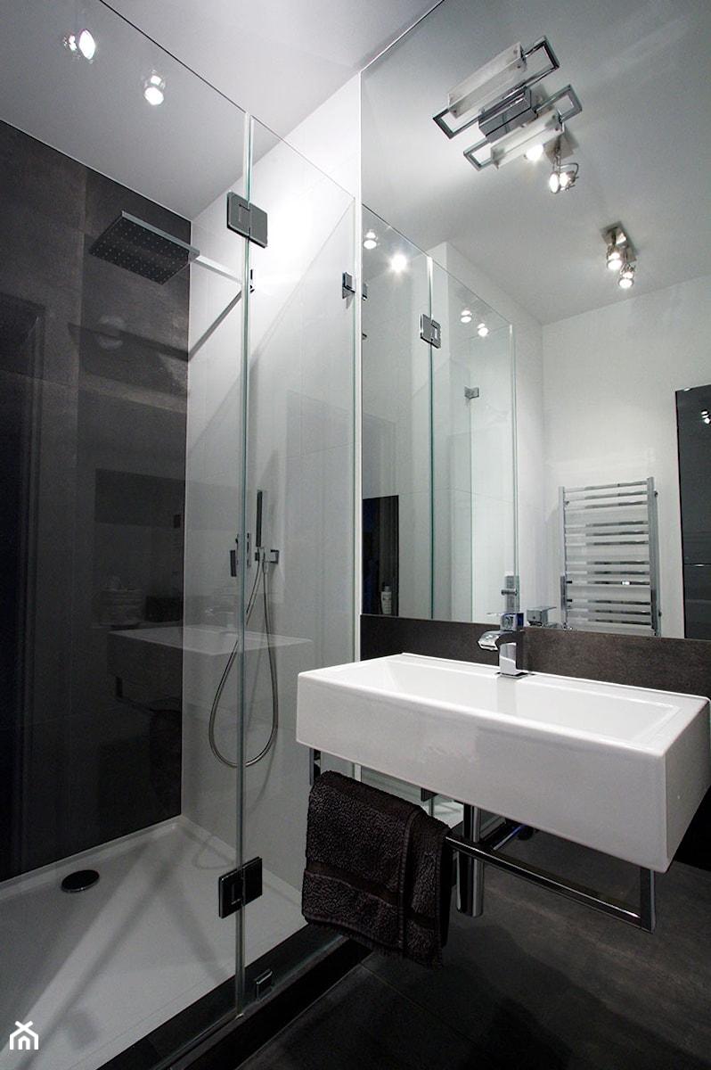 Mokotów Soft Loft - Łazienka, styl nowoczesny - zdjęcie od Soma Architekci