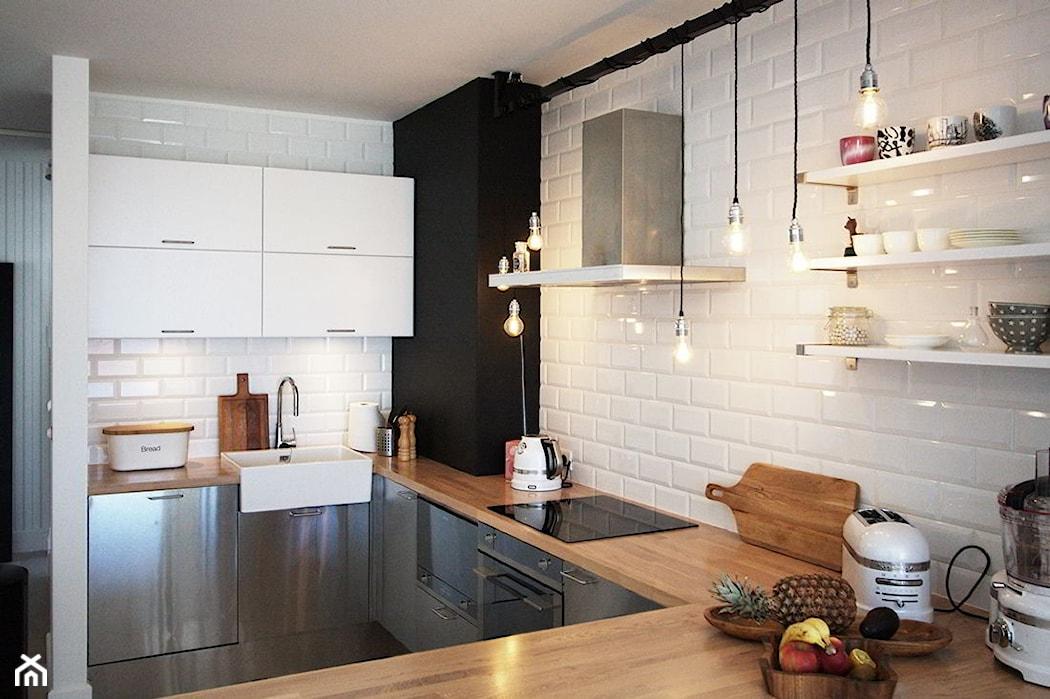 Blat drewniany w kuchni plusy i minusy  Homebook pl -> Kuchnia Drewniany Blat