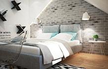 Sypialnia styl Industrialny - zdjęcie od Mart-Design Architektura Wnętrz