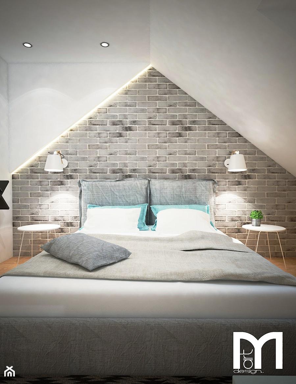 Projekt Sypialni Na Poddaszu Mała Sypialnia Małżeńska Na