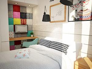 Kolorowe mieszkanie w bloku