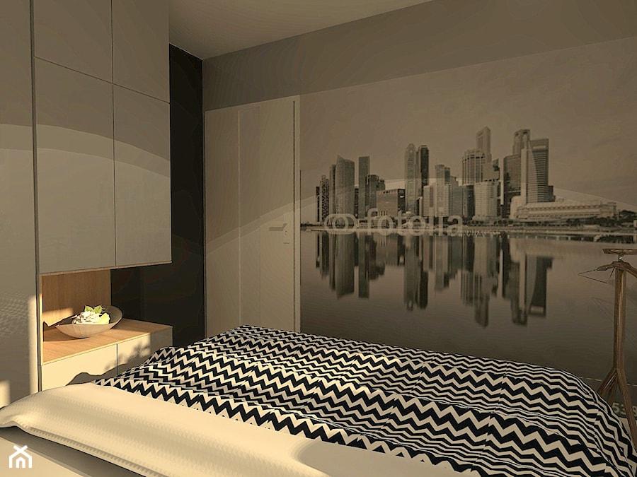 Mieszkanie W Stylu Loft Sypialnia Styl Eklektyczny