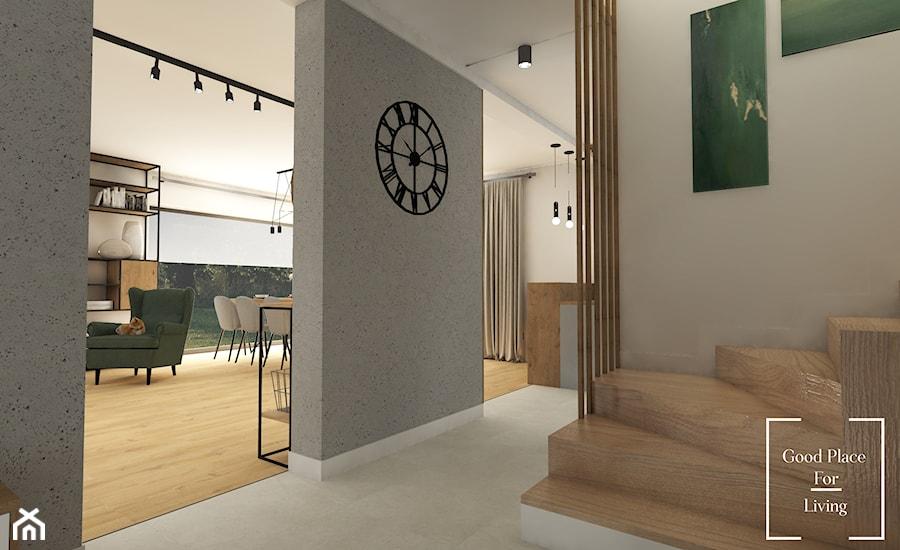 Przytulne wnętrze wzbogacone o industrialne dodatki - Hol / przedpokój, styl industrialny - zdjęcie od Good Place For Living