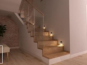 Nowoczesny dom w Zabierzowie z nutą przytulności - Schody, styl nowoczesny - zdjęcie od Good Place For Living
