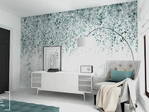 Eklektyzm - Średnia biała sypialnia małżeńska, styl eklektyczny - zdjęcie od Good Place For Living