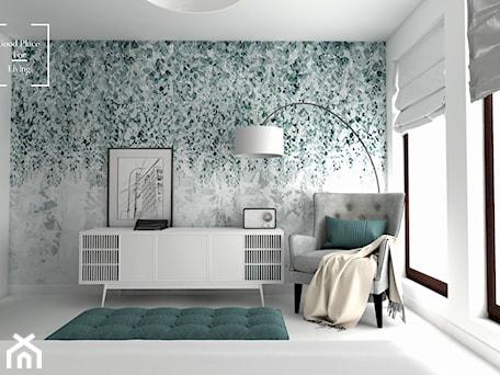 Aranżacje wnętrz - Sypialnia: Eklektyzm - Średnia biała sypialnia, styl eklektyczny - Good Place For Living. Przeglądaj, dodawaj i zapisuj najlepsze zdjęcia, pomysły i inspiracje designerskie. W bazie mamy już prawie milion fotografii!