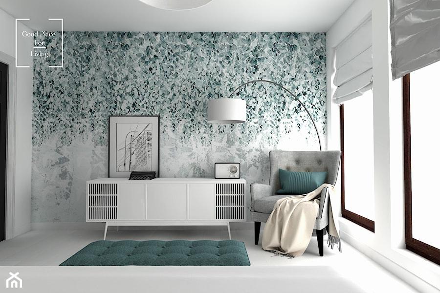 Eklektyzm - Średnia biała sypialnia, styl eklektyczny - zdjęcie od Good Place For Living