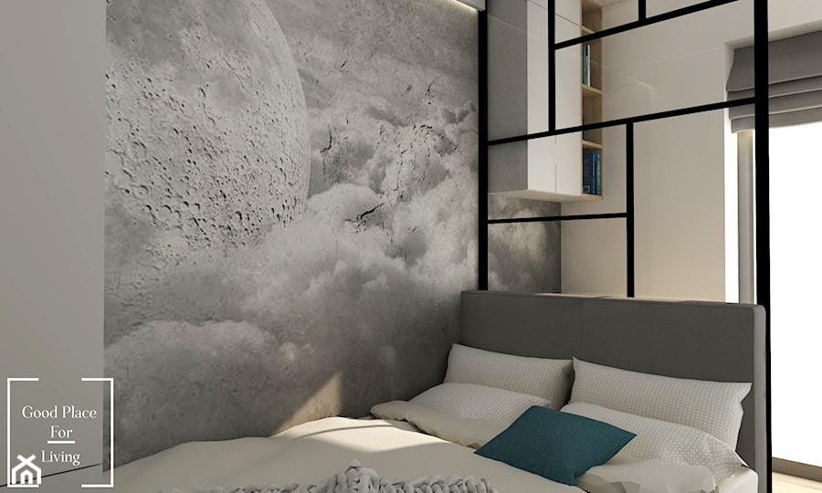 Nowoczesne mieszkanie, ul.Reduta - Sypialnia, styl nowoczesny - zdjęcie od Good Place For Living