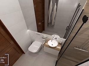 Funkcjonalna łazienka na 3m2 - Mała łazienka w bloku w domu jednorodzinnym bez okna - zdjęcie od Good Place For Living