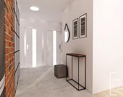 Mieszkanie, Bagry Park - Średni biały hol / przedpokój, styl industrialny - zdjęcie od Good Place For Living