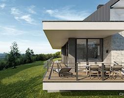 Projekt domu jednorodzinnego - zdjęcie od KJ Architekci - Homebook