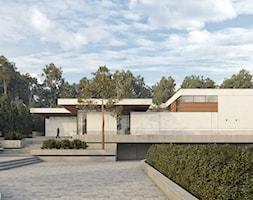 Projekt współczesnej willi - Domy, styl nowoczesny - zdjęcie od KJ Architekci - Homebook