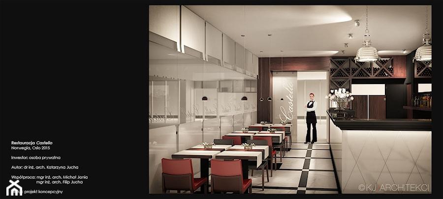 Restauracja w Oslo - Wnętrza publiczne, styl klasyczny - zdjęcie od KJ Architekci