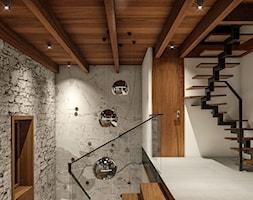 Wnętrza centrum Golden Mean - Schody, styl nowoczesny - zdjęcie od KJ Architekci - Homebook