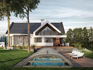 Projekt domu jednorodzinnego pod Krakowem