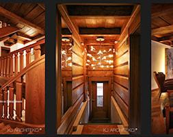 Wnętrza willi w Zakopanem - zdjęcie od KJ Architekci