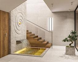 Wnętrza centrum Golden Mean - Duży szary hol / przedpokój, styl nowoczesny - zdjęcie od KJ Architekci - Homebook