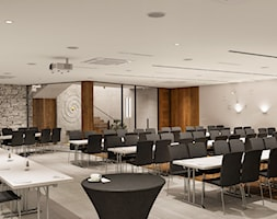 Wnętrza centrum Golden Mean - Wnętrza publiczne, styl tradycyjny - zdjęcie od KJ Architekci - Homebook