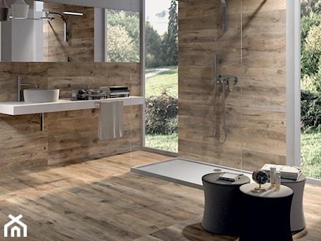 Aranżacje wnętrz - Łazienka: Łazienka drewniana Flaviker Dakota Avana - terrano.pl. Przeglądaj, dodawaj i zapisuj najlepsze zdjęcia, pomysły i inspiracje designerskie. W bazie mamy już prawie milion fotografii!