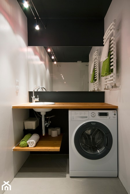 Projekt Małej łazienki W Mieszkaniu Zdjęcie Od Za Murami