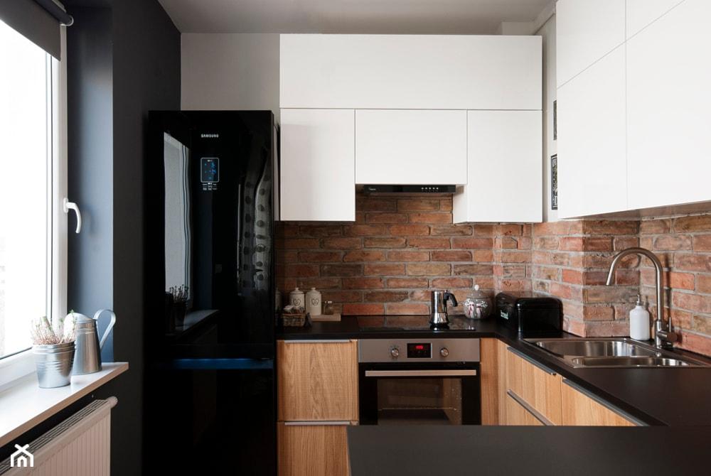 Mała kuchnia jak urządzić stylowo i funkcjonalnie?  Homebook pl -> Kuchnia Biale Cegly