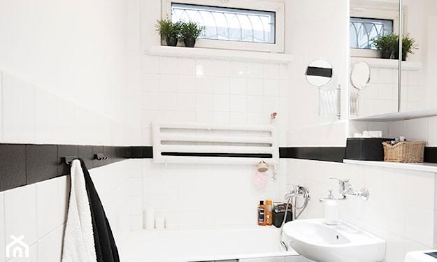 mała łazienka w piwnicy