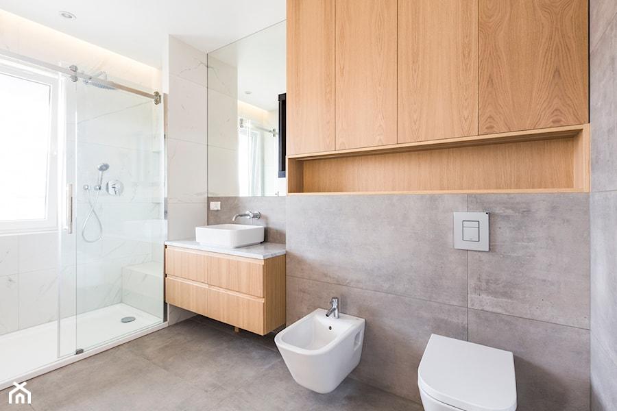 Łazienka i toaleta P&O - Łazienka, styl nowoczesny - zdjęcie od Kraupe Studio