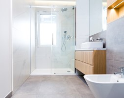 Łazienka i toaleta P&O - Łazienka, styl nowoczesny - zdjęcie od Kraupe Studio - Homebook