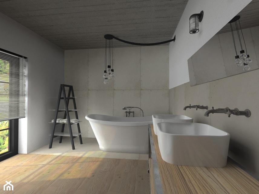 My Loft - Łazienka, styl industrialny - zdjęcie od Multiwnętrza