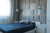 wezgłowie tapicerowane pomysły do sypialni