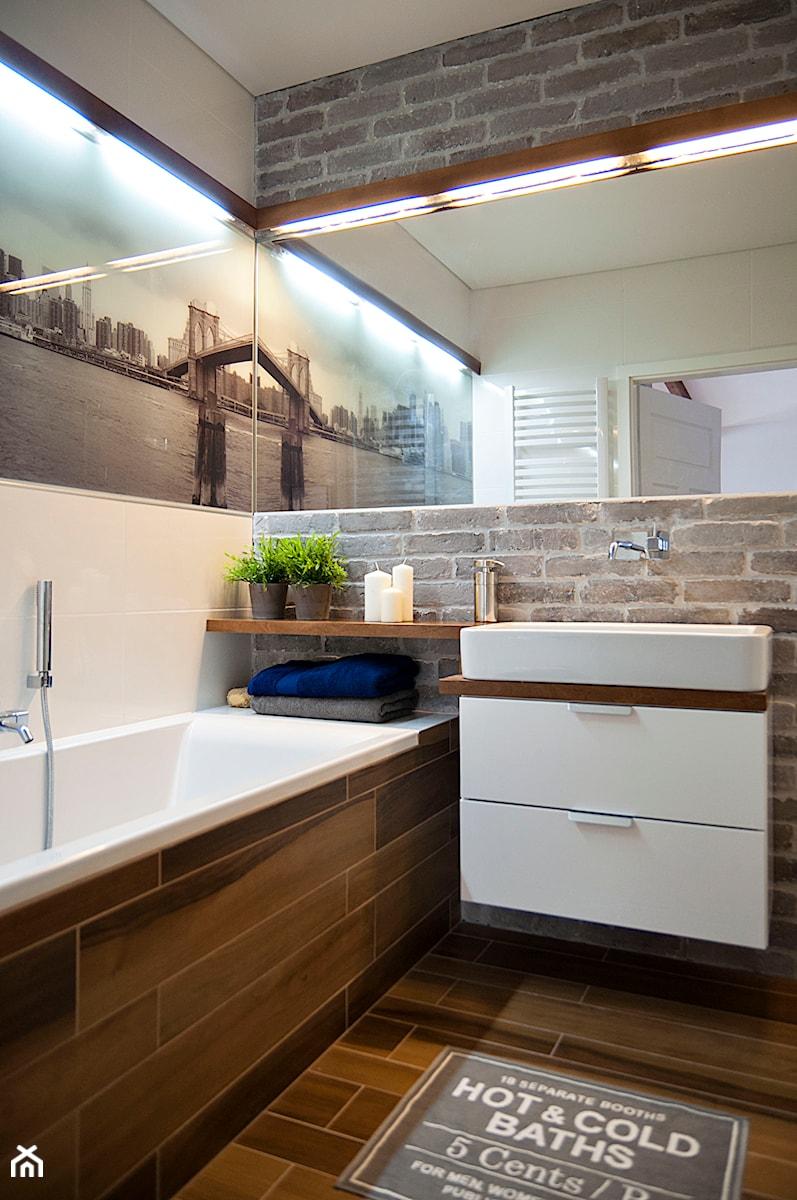 Gdańsk Garnizon - Średnia łazienka, styl skandynawski - zdjęcie od STUDIOLOKO