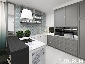 Kuchnia w domu jednorodzinnym - zdjęcie od FUTURUM ARCHITECTURE