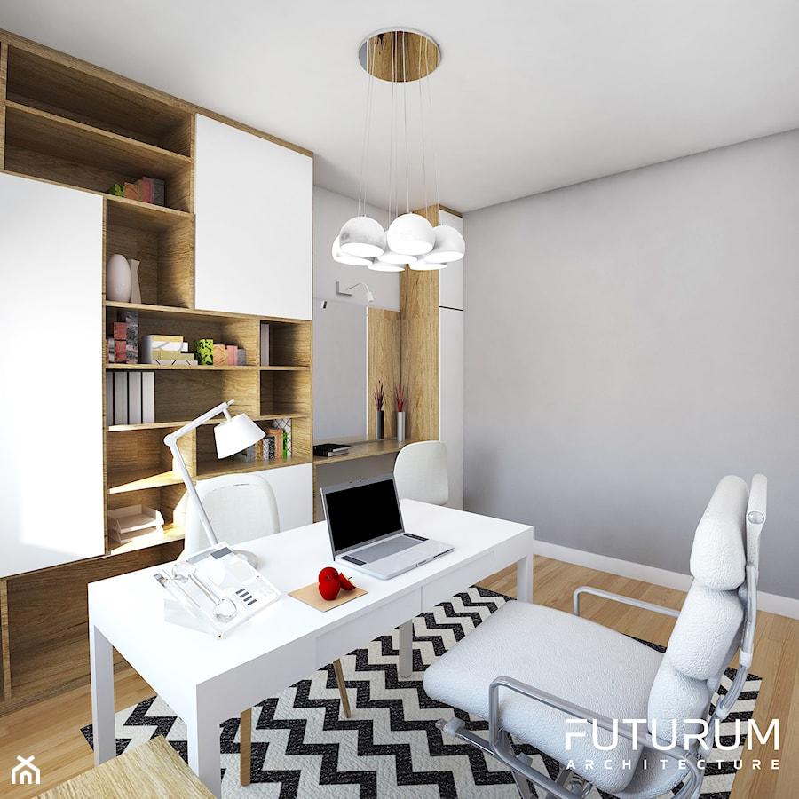 Projekt wnętrza, Łomża - Biuro, styl nowoczesny - zdjęcie od FUTURUM ARCHITECTURE