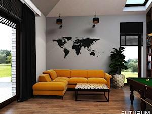 Bawialnia. Pokój wielofunkcyjny. - zdjęcie od FUTURUM ARCHITECTURE