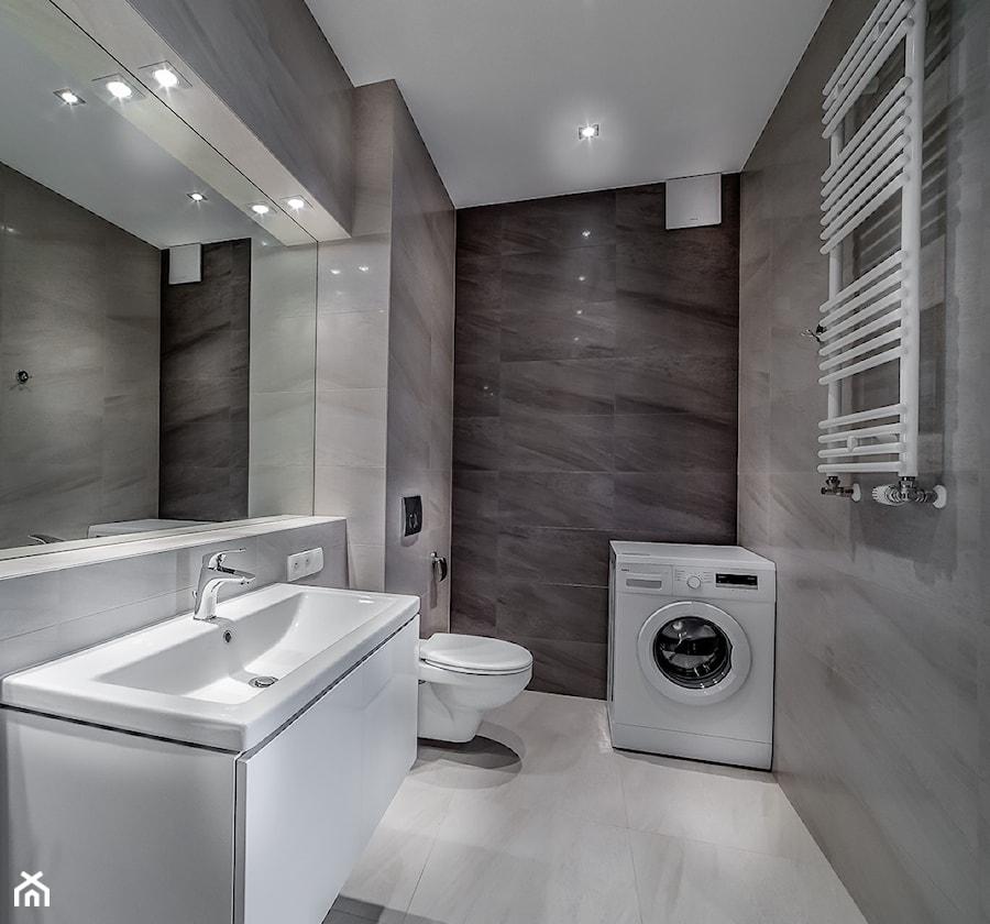 Nowoczesna Aranżacja Mieszkania Pod Wynajem łazienka Styl