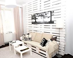 Salon styl Skandynawski - zdjęcie od AgiDesign