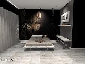 Apartament 90 m - Sypialnia - Katowice - Sypialnia, styl skandynawski - zdjęcie od Studio QQ Natalia Lenarczyk - Architekci & Projektanci wnętrz