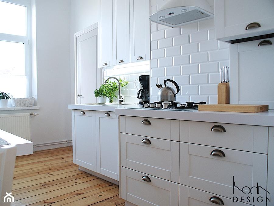 Biała Kuchnia W Stylu Skandynawskim Kuchnia Styl