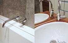 łazienka w drewnie i betonie - zdjęcie od KODA DESIGN ...